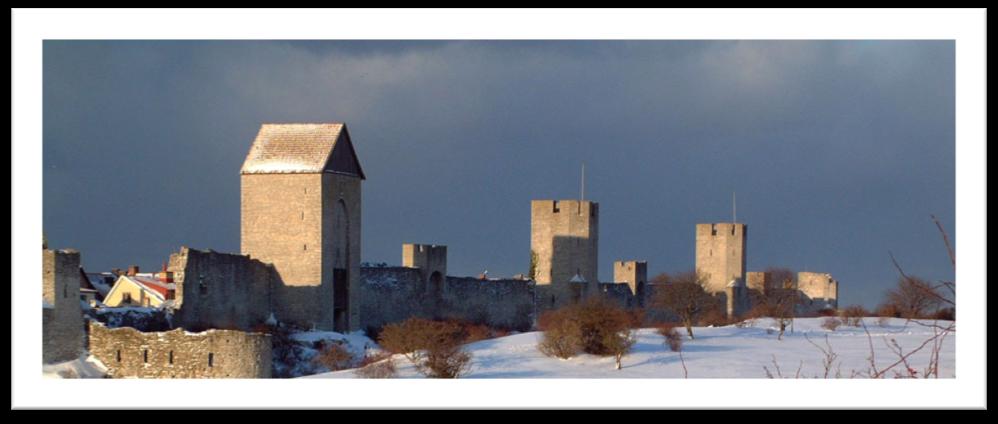 Gotländska Möten i ett vintrigt Visby