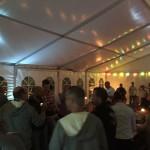 Fest i tält