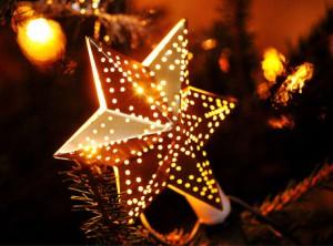 Julstjärna i visby