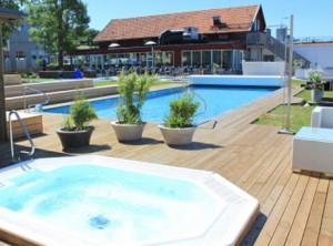 Pool & Balja på Scandic Visby