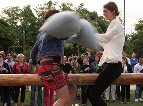 Gutnisk Mångkamp Aktivitet Visby Gotland