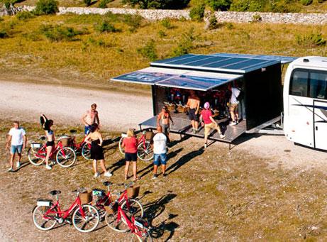 Så mycket Gotland cykelaktivitet Visby Östergarnslandet