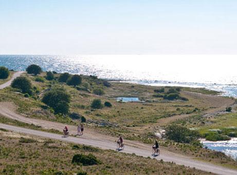Så mycket Gotland cykelaktivitet Visby Stor Sudret