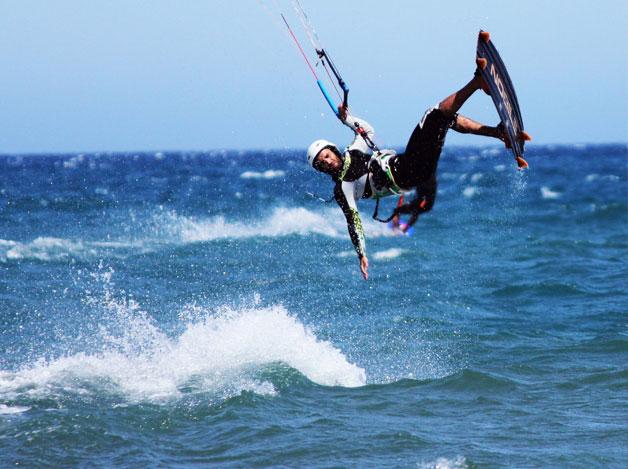 Strandaktiviteter Gotland Kite surf