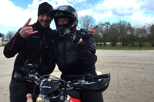 Event Gotland Motorcykel aktivitet
