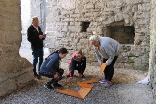 Kickoff Gotland Aktivitet Ruin