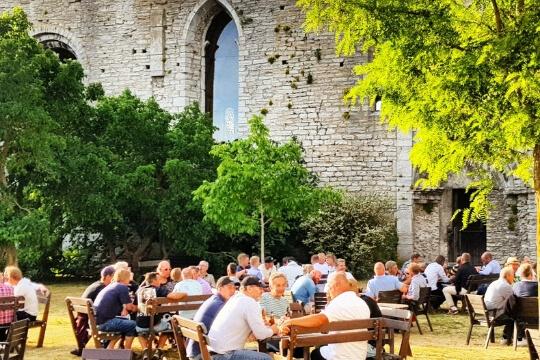 Konferens Gotland ruin